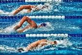 swimming small